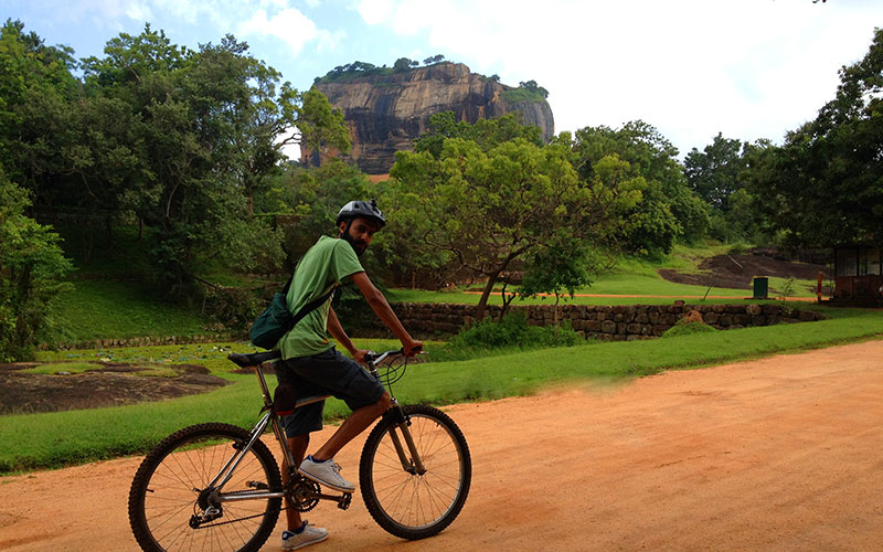 Cycle to Sigiriya - Cycling Tours in Sigiriya - Cycle with a villager in Sigiriya - Cycling Trips in Sri Lanka - Sri Lanka Cycling tours - Tour to Cycle - Sri Lanka Cycle Tours in Sri Lanka - Sri Lanka - Tailor Make Tors - Best Travel Experinces in Sri Lanka